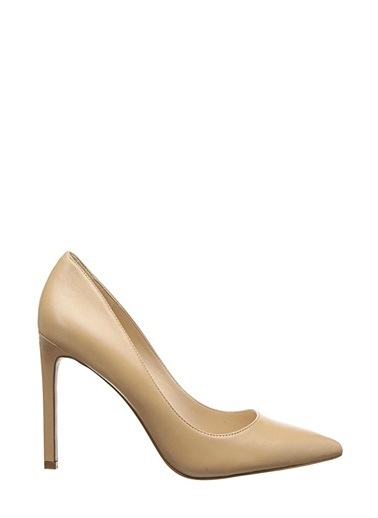 Süet Stiletto Ayakkabı-Nine West